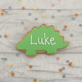 Personalised Dinosaur Cookie Favours