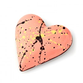 Vanilla Marshmallow, Passionfruit Ganach and Crunchy Almond Heart