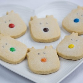 Rudolf & Friends - Christmas Reindeer Shortbread Set