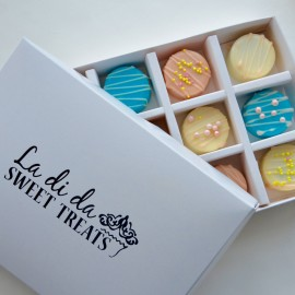 Mini Chocolate Covered Oreos Gift Box