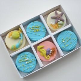 Mermaid Chocolate Covered Oreos Gift Box