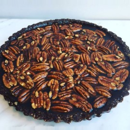 Pecan Pie (Vegan, Gluten Free, Refined Sugar Free)