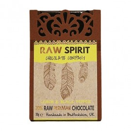 Lemon & Black Pepper Raw Peruvian Chocolate Bars