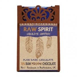 70% Dark Raw Peruvian Chocolate Bars
