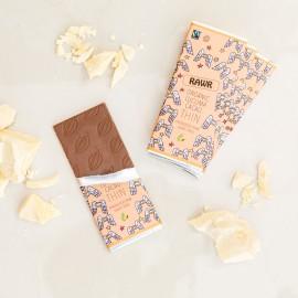 Lucuma Raw Cacao THIN Chocolate Bars - Organic, Fairtrade