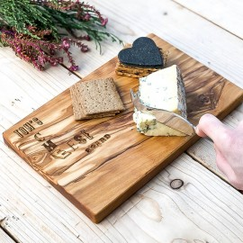 Personalised Wooden CHEESE/Serving Board