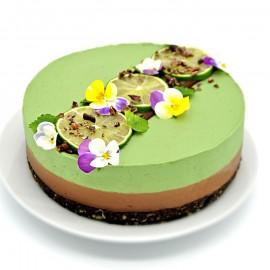 Raw Chocolate & Lime Cake