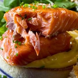 Black Mountains Smokery Oak Roasted Hot-Smoked Salmon