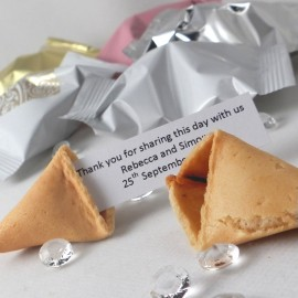 Personalised Wedding Fortune Cookies