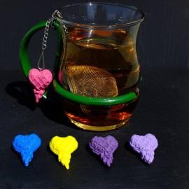 Heart Mesh ball tea infuser