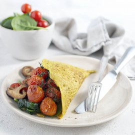 Eggless Omelette