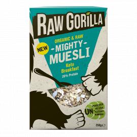Vegan Raw Mighty Muesli Keto Breakfast Granola