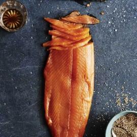 Classic Booze Infused Oak Smoked Salmon