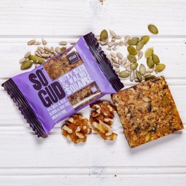Nutty Seed and Walnut Square