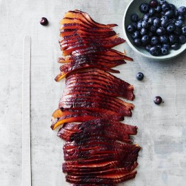 Raspberry Vodka & Blueberry Infused Smoked Salmon