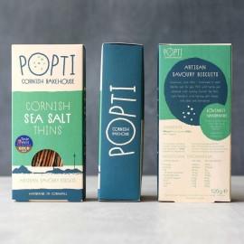 Cornish Sea Salt Savoury Biscuit Thins