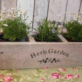 Herb Box Window Planter