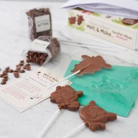 Melt And Make Chocolate Lollipops