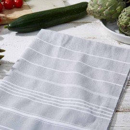 Large Tea Towel / Hand Towel - Butcher's Black