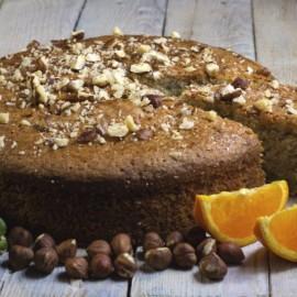 Courgette, Orange and Hazelnut Cake (Gluten & Dairy Free)