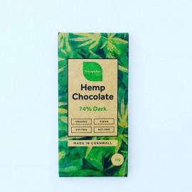 Organic Hemp 74% Dark Chocolate Bars (6 pack)