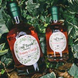 Strawberry & Basil Gin Liqueur