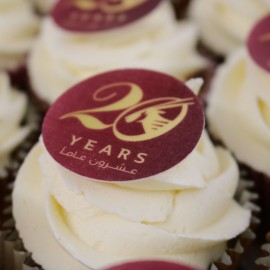 Bespoke Branded Cupcakes