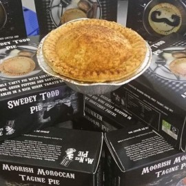 Handmade Vegan Pies Selection Pack