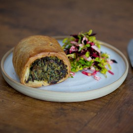 Meat Free Spinach, Egg & Potato Sausage Rolls