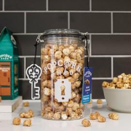 Salted Caramel Gourmet Popcorn Jar 200g