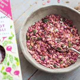 Raw Beetroot & Ginger Muesli