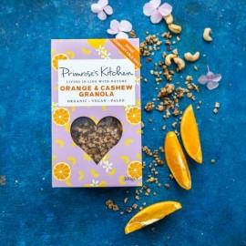 Organic Orange & Cashew Granola