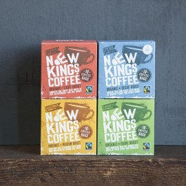 Fairtrade Organic Coffee Bags Selection Pack
