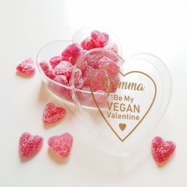 Personalised 'Be My Vegan Valentine' Vegan Sweets Gift