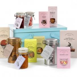 The Pocklington Hamper - Tea & Snacks Gift Set