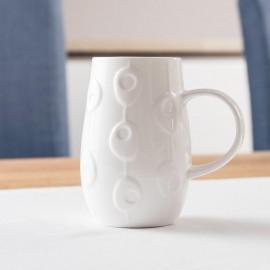Fine Bone China Mug With Droplet Design