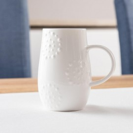 Fine Bone China Mug With Kaleidoscope Design