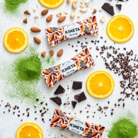 Matcha Energy Bar Cacao Orange