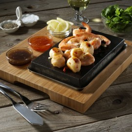 The Hot Stone Cooking Sizzling Starter Set