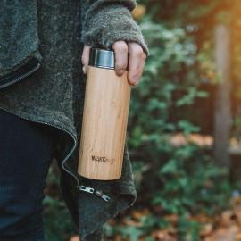 Reusable Bamboo Thermos Flask
