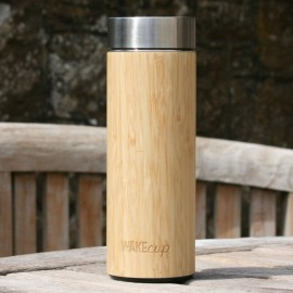 Reusable Bamboo Water Bottle