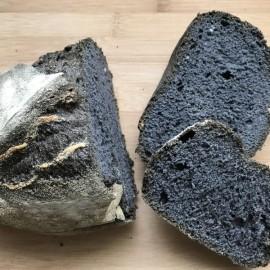 Gluten free charcoal sourdough loaves- box of 4