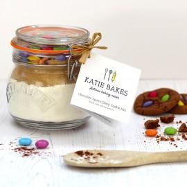 Chocolate Spotty Dotty Cookie Mix Jar