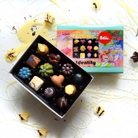 12 beautiful chocolates