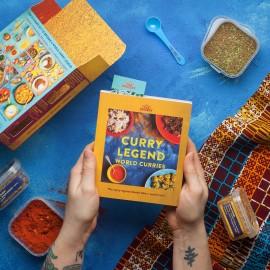 World Curries Cookbook Kit