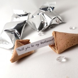 will you be my bridesmaid fortune cookies