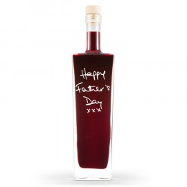 Personalised Liqueur Bottle (Flavour, Message & Choice of Bottle Shape)