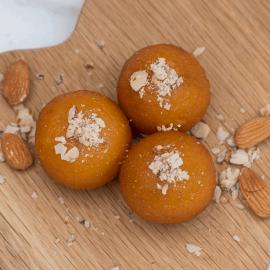 Almond Gulab Jamuns - Indian Sweets