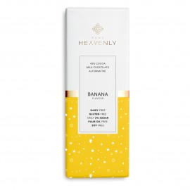 3 Vegan & Low Sugar Banana Milk Chocolate Alternative Mini Bar - 25g - Free From