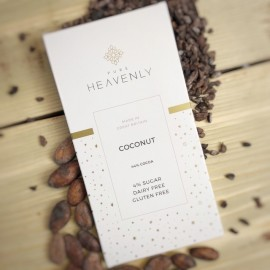 3 Low Sugar Coconut Milk Chocolate Alternative Bars (Free From)